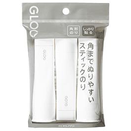 Paquete de 3 tamaño M - Pegamento en barra - Firme