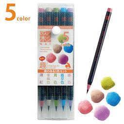 """Set 5 """"Aya"""" Brush Pen - Set Elegant"""