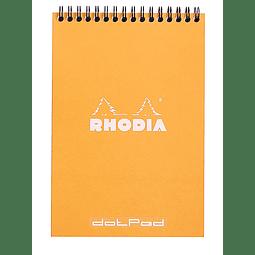 Notepad Anillado Superior - 14,8 x 21 cm (2 colores)