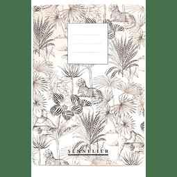 Mini libreta de dibujo Sennelier. Grano medio 14,3x9,5cm. 120g
