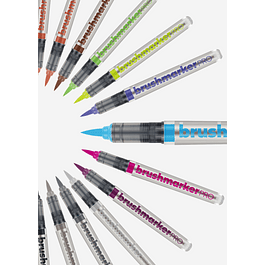 BrushmarkerPRO | 60 Colores individuales