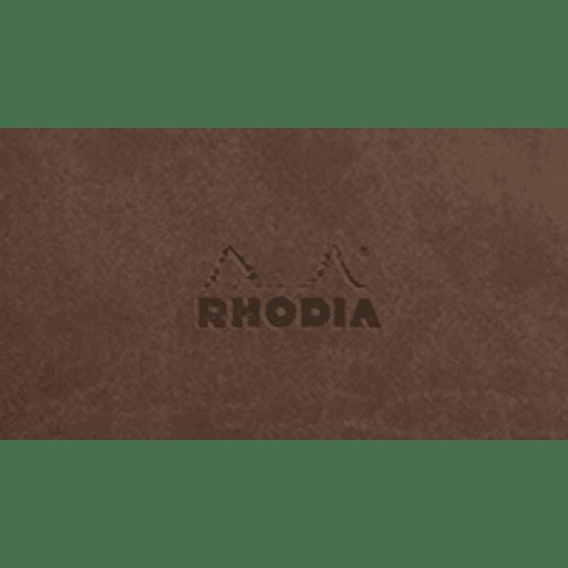 Cuaderno A5 con lomo cosido - Chocolate