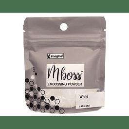 Mboss Embossing Powder Blanco