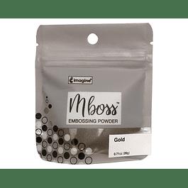 Mboss Embossing Powder Dorado