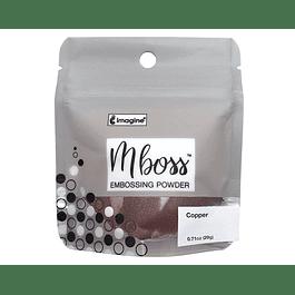 Mboss Embossing Powder Cobre