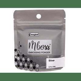 Mboss Embossing Powder Plata