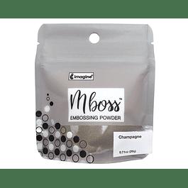 Mboss Embossing Powder Champaña