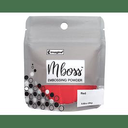 Mboss Embossing Powder Rojo