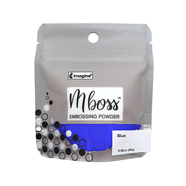 Mboss Embossing Powder Azul