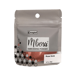 Mboss Embossing Powder Rose Gold