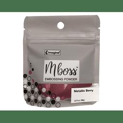 Mboss Embossing Powder Metallic Berry