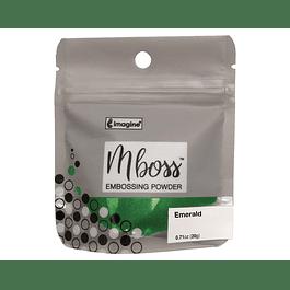 Mboss Embossing Powder Esmeralda