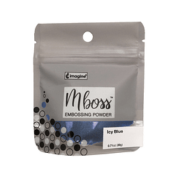 Mboss Embossing Powder Azul Hielo