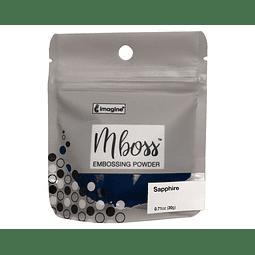 Mboss Embossing Powder Zafiro