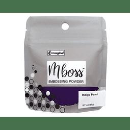 Mboss Embossing Powder Indigo Pearl