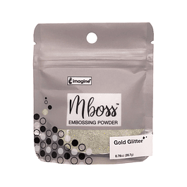 Mboss Embossing Powder Gold Glitter