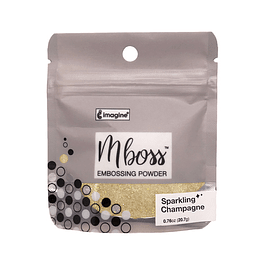 Mboss Embossing Powder Sparkling Champagne