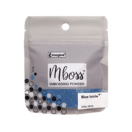 Mboss Embossing Powder Blue Icicle