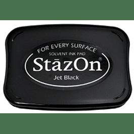 StazOn full-size inkpad Jet Black