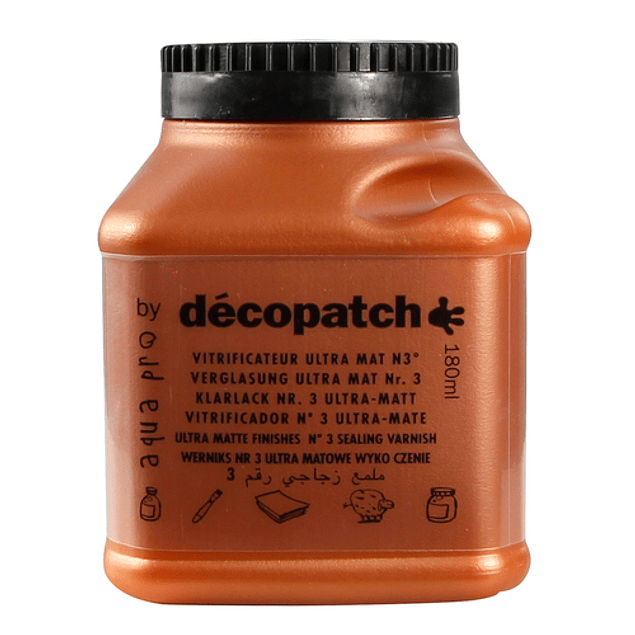 Decopatch Barniz Vitrificador Ultra Mate - 180ml