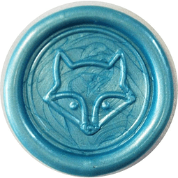 Sello de cera - Fox