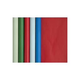 Papel de regalo - 5 m x 0.35 m Colores Navidad