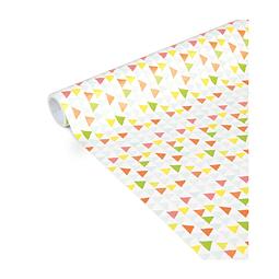 """Rollo de papel de regalo - """"Triángulo"""" 5 m x 0,35 m"""