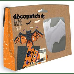 Mini Kit - Murcielago + 2 papeles Decopatch