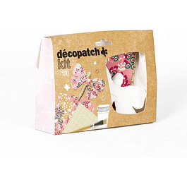 Mini Kit - Mariposa + 2 papeles Decopatch