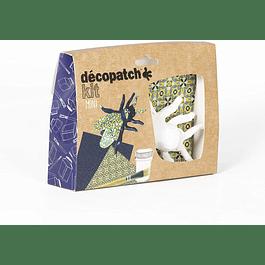 Mini Kit - Abeja + 2 papeles Decopatch