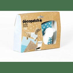 Mini Kit - Dachshund + 2 papeles Decopatch