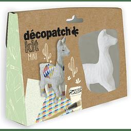 Mini Kit - Llama + 2 papeles Decopatch