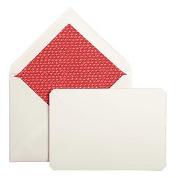 """Juego de 15 tarjetas y sobres """"Correspondence"""" - Red Lining"""