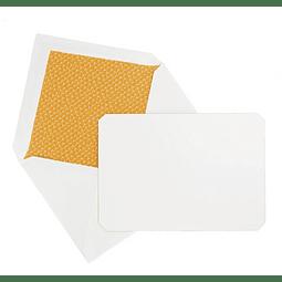 """Juego de 15 tarjetas y sobres """"Correspondence"""" - Ambar"""