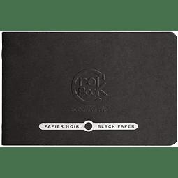 Crok' Book Papel Negro - (4 tamaños)
