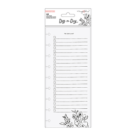 Maggie Holmes - Day to Day Planner Collection - Shopping and To Do List