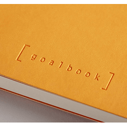 GoalBook Tapa Blanda - Color Naranja