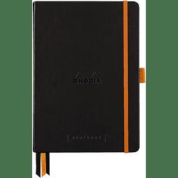 GoalBook Tapa Dura Puntos Hojas Blancas - 14,8 x 21 cm - (Colores)