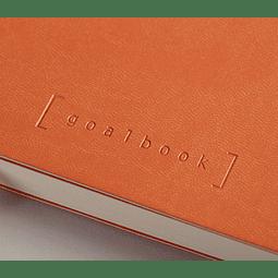 GoalBook Tapa Dura - Color Mandarina