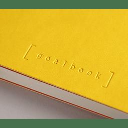 GoalBook Tapa Dura - Color Amarillo