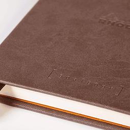 GoalBook Tapa Dura - Color Chocolate