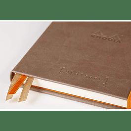 GoalBook Tapa Dura - Color Gris Pardo