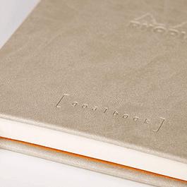 GoalBook Tapa Dura - <br>Color Beige