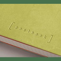 GoalBook Tapa Dura - <br>Color Anís