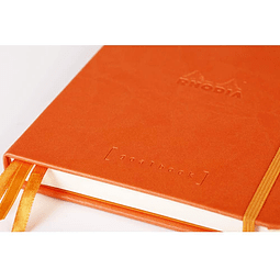 GoalBook Tapa Dura - <br>Color Mandarina