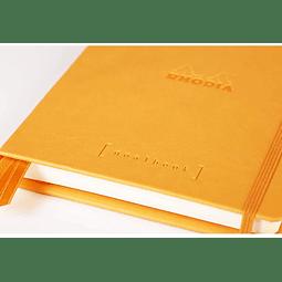 GoalBook Tapa Dura - <br>Color Naranja