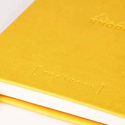 GoalBook Tapa Dura - <br>Color Amarillo