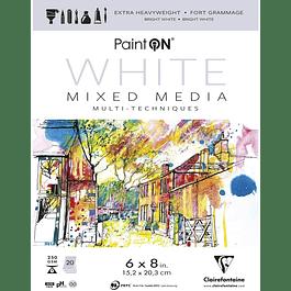 Papel Paint'On Mixed Media - Blanco - (3 tamaños)