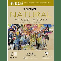 Papel Paint'On Mixed Media - Natural - (3 tamaños)