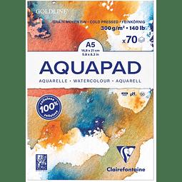 "Bloc Acuarela ""AquaPad"" grano medio fino"